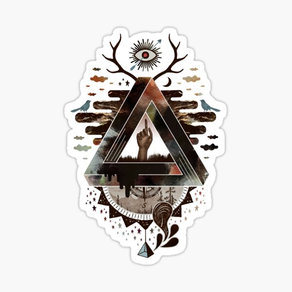 All Impossible Eye Sticker