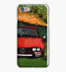 An old Alfa Romeo alfetta iPhone Case/Skin