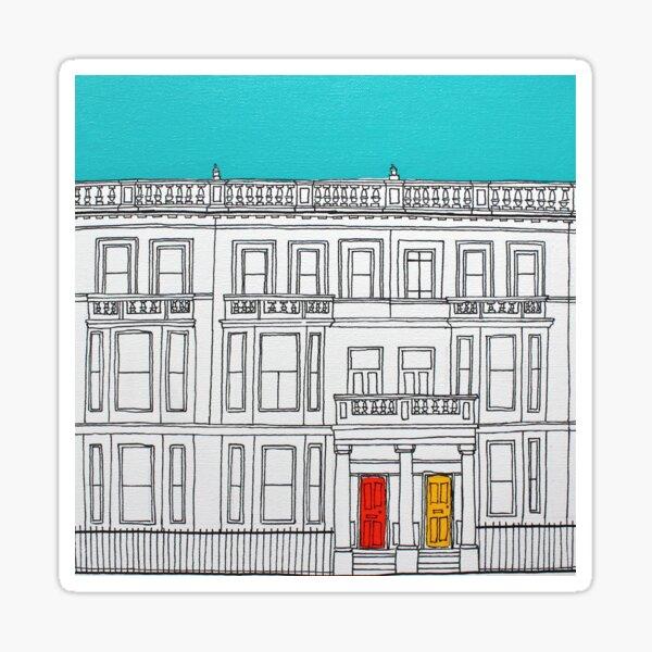 London Terrace Sticker