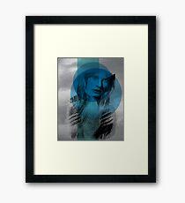 reluctance to leave Framed Print