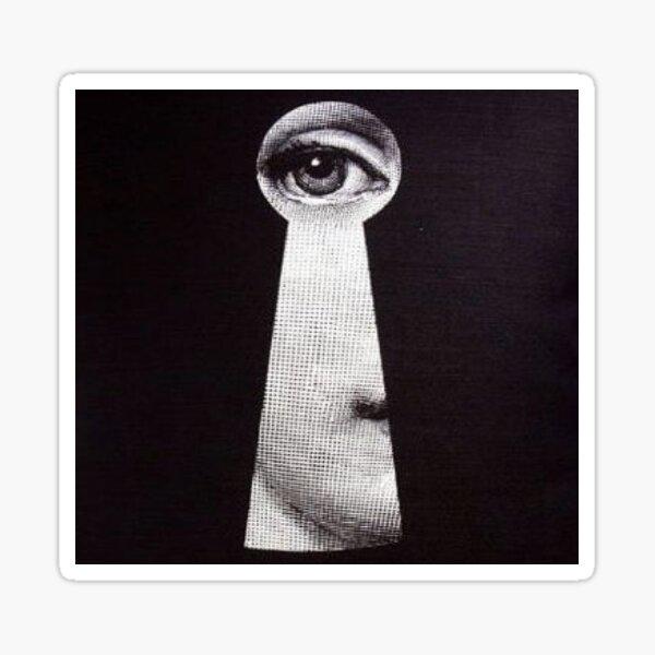 Fornasetti Black Eye Sticker
