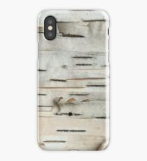 Birch Tree Bark iPhone Case/Skin