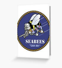 Seabees Greeting Card