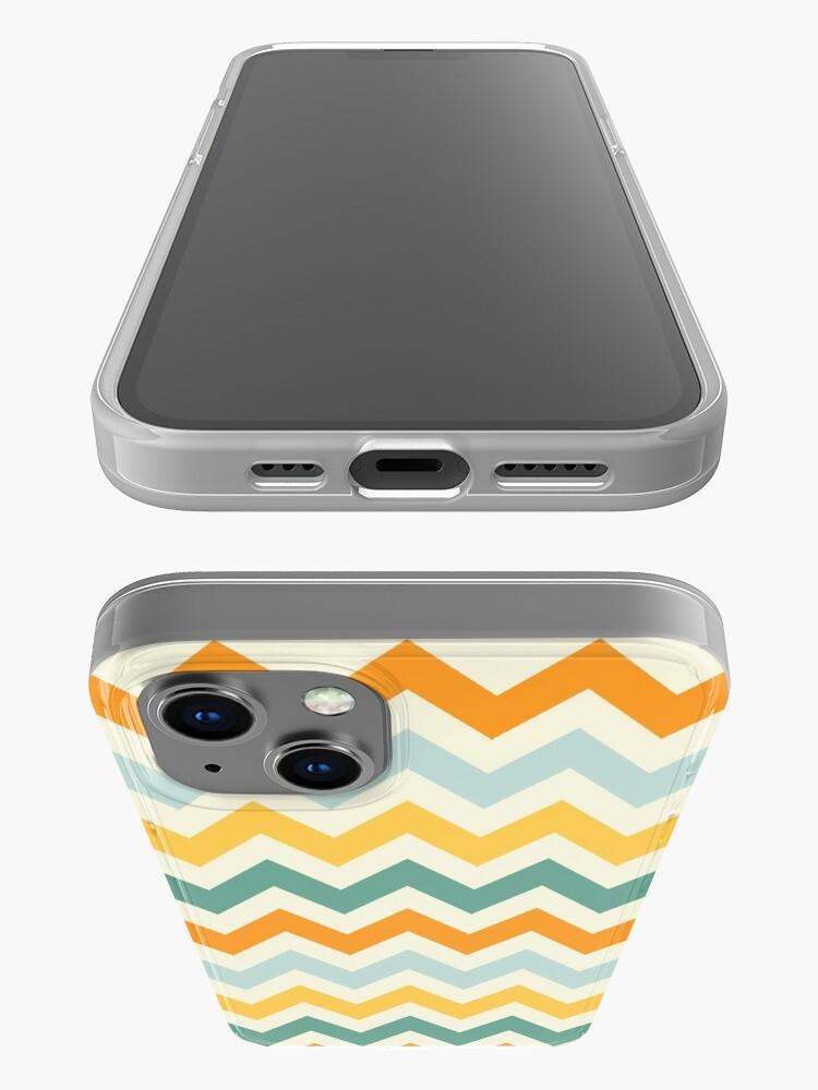 Alternate view of Citrus ZigZags iPhone Case