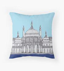 Pavilion Blues Throw Pillow