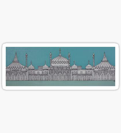 A Grand Facade Sticker