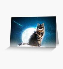 Radagast at night Greeting Card