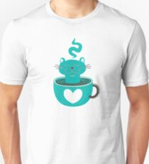 Cat in a Cup Unisex T-Shirt