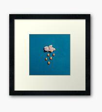 kernel cloud Framed Print