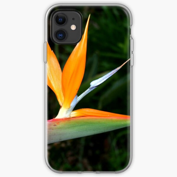 REDREAMING BIRD OF PARADISE. iPhone Soft Case
