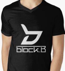 Block B 1 Men's V-Neck T-Shirt