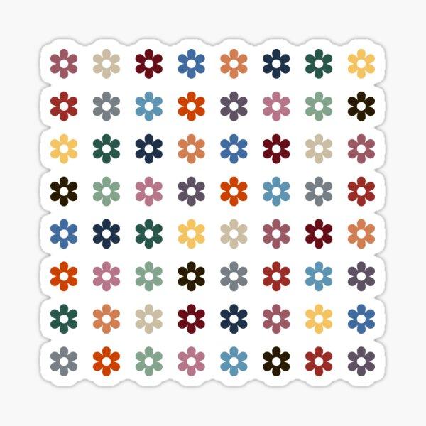 Multicolor Florets Sticker