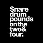 Prince - Snare Drums Pound on the Two & Four by juk8ox