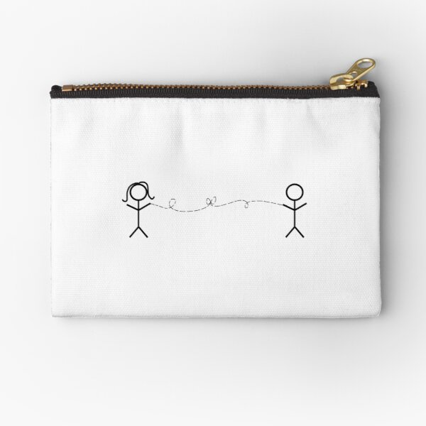 Invisible String   Taylor Swift Zipper Pouch