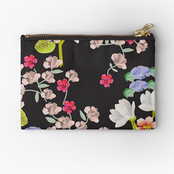 Delicate Blossoms Zipper Pouch