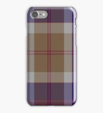 00762 Bannockbane Navy Tartan  iPhone Case/Skin