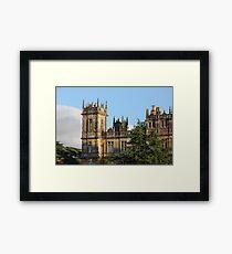 Highclere Castle (Downton Abbey) Framed Print