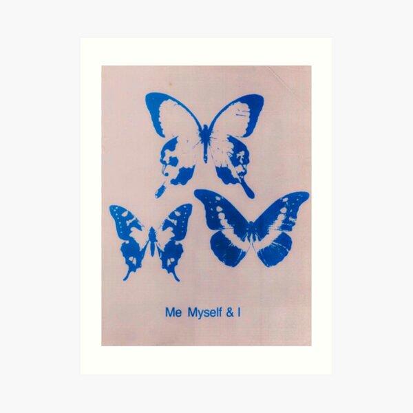 ME MYSELF AND I Art Print