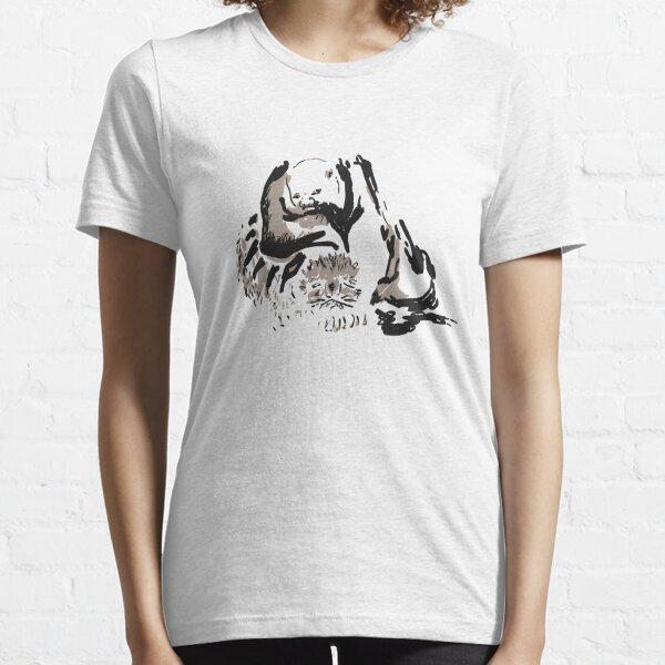 Monk and tiger, 石恪 (Shi Ke) Essential T-Shirt