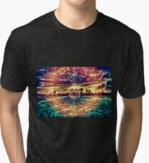 Eye of the Danelion Tri-blend T-Shirt
