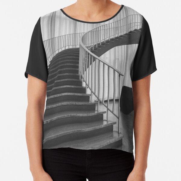 Staircase Chiffon Top