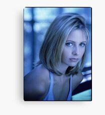 Buffy Blue Canvas Print