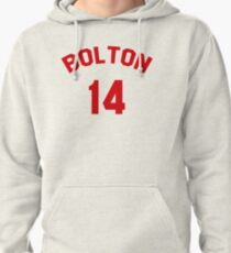 High School Musical: Bolton Jersey Red Pullover Hoodie