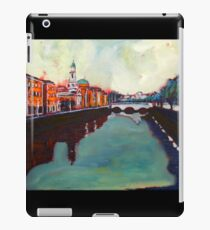 Liffey, Arran Quay and Ushers Quay - Dublin iPad Case/Skin