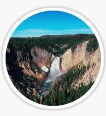 Yellowstone x Lower Falls Sticker