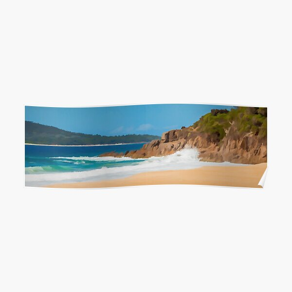 Zenith Beach, NSW, Australia, Poster