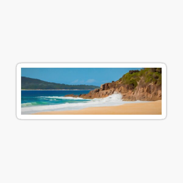 Zenith Beach, NSW, Australia, Sticker