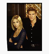 buffy and angel Photographic Print