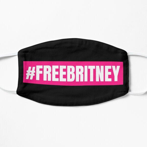 Free Britney - #FREEBRITNEY Flat Mask