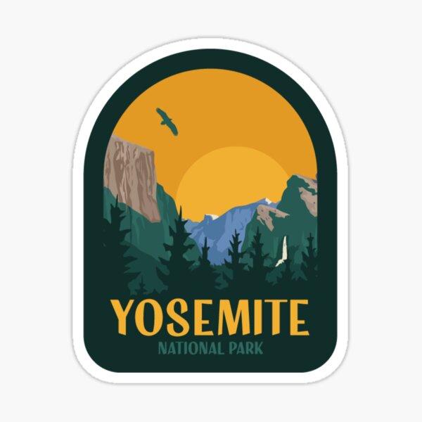 Yosemite National Park Vintage Patch  Sticker