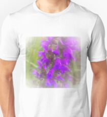 Shadow Clan Enhanced Purple Flowers Unisex T-Shirt