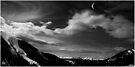 Moonrise on the Rockies by Wayne King