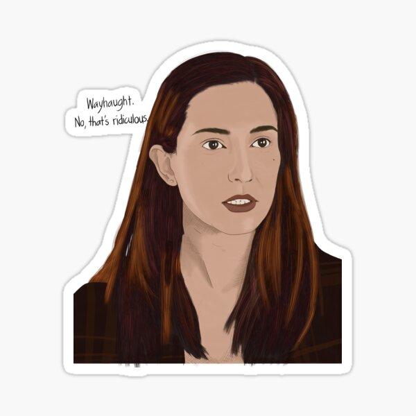 Nicole Haught Wayhaught  Sticker