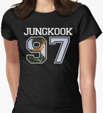 Camiseta entallada para mujer BTS - Jungkook 97 jóvenes para siempre