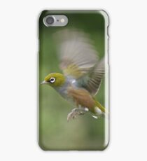 Silver Eye........on the wing.......! iPhone Case/Skin