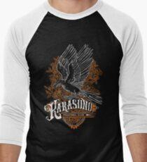 Haikyuu Team Types: Karasuno Black Men's Baseball ¾ T-Shirt