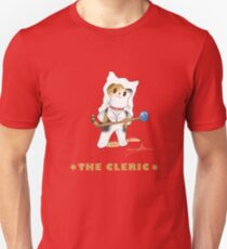 Fantasy Cat - The Cleric T-Shirt