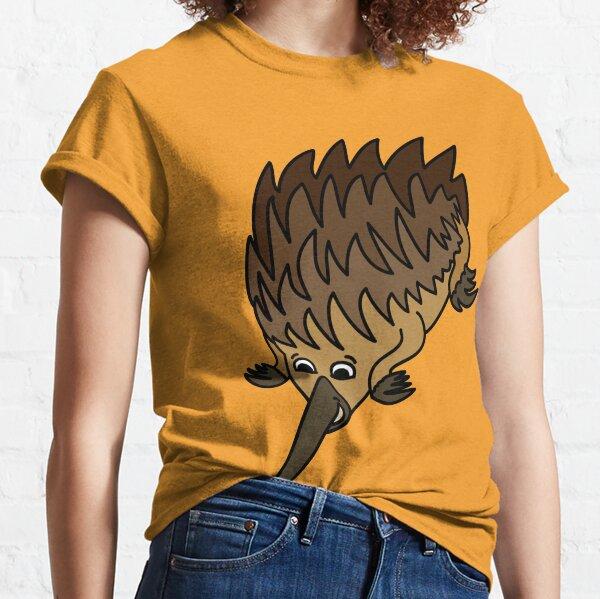 Echidna. Iconic Australian Animal coloured. Classic T-Shirt