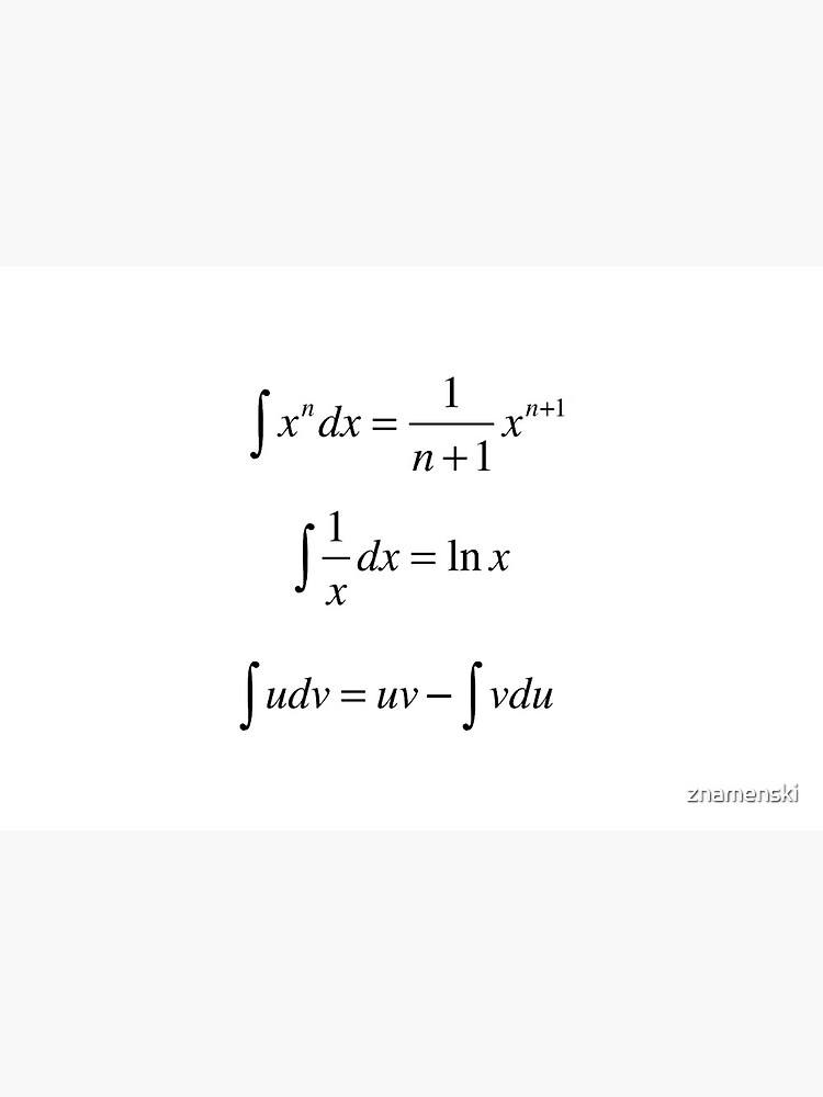 #Integrals, #math, #calculus, #mathematics, Integral, natural, logarithm, naturalLogarithm, exponent Physics by znamenski