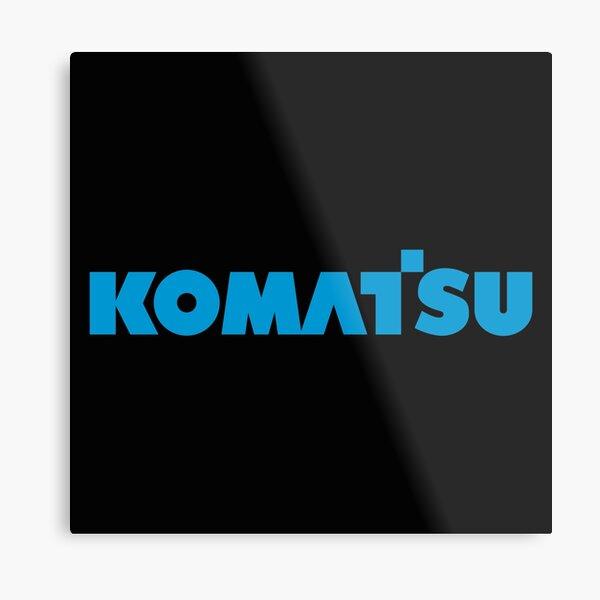 Komatsu Metal Print