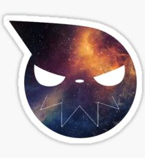 Galaxy Soul Eater Logo Sticker