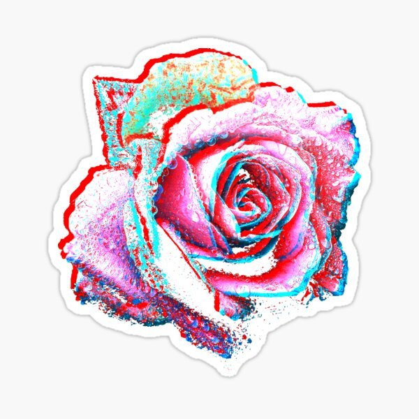 Roseographic Sticker