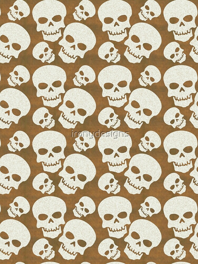 Skull Graphic Pattern Design by ironydesigns