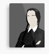 Wednesday Addams Metal Print