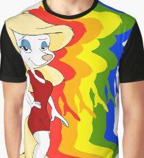 Minerva Mink Color Graphic T-Shirt