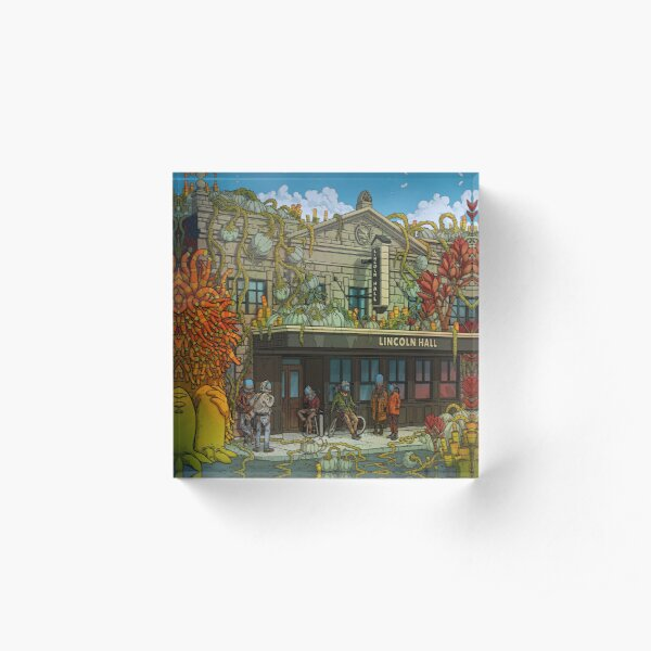 Lincoln Hall Acrylic Block